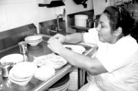 New York City restaurant worker. Courtesy of Restaurant Opportunities Center (ROC)
