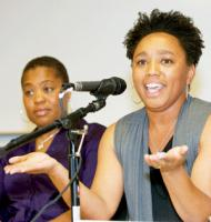 N'Tanya Lee, former executive director at Coleman Advocates for Children and Youth ©2011 Jane Philomen Cleland/Bay Area Reporter