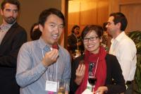 New fellow Deland Chan (right) and UH Land Use Coordinator Vu-Bang Nguyen (left)