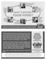The Food System Chart. Courtesy of Food Chain Workers Alliance