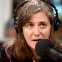 Amy Goodman. Courtesy of www.rainandtherhinoceros.wordpress.com