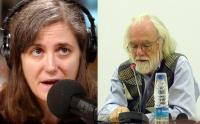 Amy Goodman--David Harvey, Composite Photo