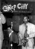 Bop City was a popular jazz club in the the Fillmore. Courtesy of San Francisco History Center, San Francisco Public Library