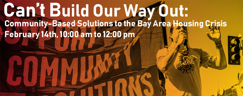 Community-Based Solutions to the Housing Crisis @ The California Endowment Conference Center